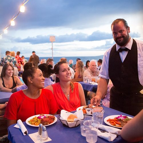 Maui Princess Sunset Dining & Dancing — Hawaii Ocean Project